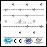 wholesale Electric galvanized CE&ISO certificated Barbed wire mesh(pro manufacturer)