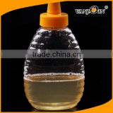 250g Plastic Honey Bottle with Silicone Cap Honey Jar Food Grade