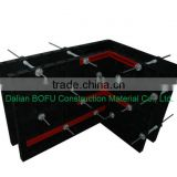 Chinese plastic modular formwork system for column and slab construction and building