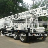 Mobile Mounted Drilling Rig with High Efficiency, HFT350B Truck-mounted Water Well Drilling Rig