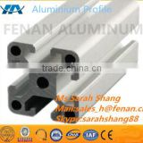 Clear anodize 6063 t5 alloy t-slot aluminum extrusion profile 20x20,40X40 /aluminium profile for Assembly line