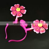 2015 New Style Flashing flower headbands /Flash hairpin headdress /Evening party flashing toy