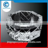 Jingyage factory directly sale unique octagonal crystal ashtray pocket cigar ashtray for travel unique cigar ashtrays
