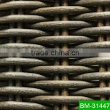 UV-resistant Synthetic Rattan Material Model BM-31447 Braiding Fiber Furniture Component