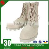 CHINA XINXING MILITARY ARMY KHAKI DESERT LEATHER BOOTS ARMY FOR MEN