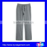 Wholesale mens causal french terry 100% cotton jogging pants 2015