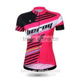 BEROY latest bicycle shirt designs,custom short sleeve mountain road bike jersey for women