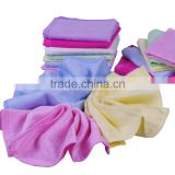 Promotional high quality bamboo fiber plain baby small squares 100% organic natural bamboo towel baby, bamboo washcloth