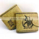 Monster Hunter Brown Cartoon Purse Wholesale Game Anime Short Wallet