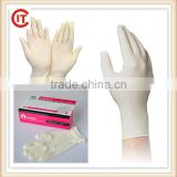 High quality Medical single use latex gloves made in Malaysia