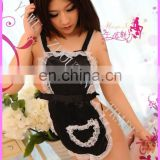 2016 Female Uniform Temptation Halter Sweet Maid Uniform Sexy Lingerie Exotic Apparel Underwear Sleepwear Women Costumes