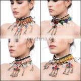 Afghan Kuchi Tribal Ethnic Gypsy Boho Bohemian Jewelry -Kuchi Choker Necklace