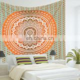 Ombre Indian Mandala Hippie Tapestry Beach Throw Blanket bedspread Indian Tapestry Queen Wall Hanging picnic Decor art Wholesale