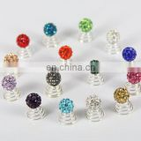 Wholesale shamballa bead hair twists