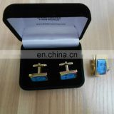rectangle sublimation cuff link with gift box packing
