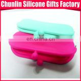 promotional custom Silicone Wallet Purse