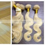 Silky Straight & Body Wave & Natural Wave Russian 613 Color Weave Human Hair