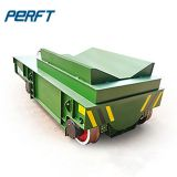 Heavy Duty hydraulic lifting Electric Rail Coil Transfer Trolley for factory Aluminum Steel Pipe and coils transport