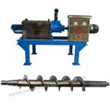 distillery used screw press separator, new condition metal machine