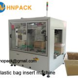 Hennopack MB40P carton box bag inserter machine wit CE