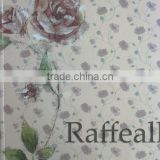fashionable wallpaper catalogues/flower design wallpaper catalogues/pvc wallpaper catalogues