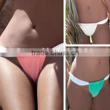 Hot Selling 2016 New Women Brazilian Bikini Bottom Swim Panty Mini Thong Sey Ladies Swimming Trunks Swimwear Beachwear Bandage B