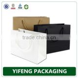 wholesale black white brown custom craft Paper gift bag