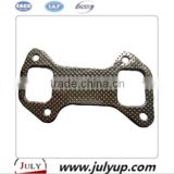 DCD Chaochai engine parts exhaust pipe gasket 4102.09.02 exhaust manifold gasket