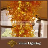 Promotional prices chandeliers blown glass fish ornaments