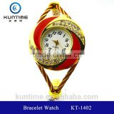 payment asia alibaba china watch beautiful crystal watch glass face bangle watches for girls bracelet watch