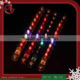 Promotion Halloween Party LED Bracelet Nightclub Rivet Luminous Bracelet Electronic Light-Emitting Bar Bracelet