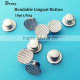 Bondable lingual buttons/orthodontic lingual material/orthodontic bracket