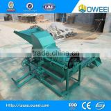 Sunflower seed dehulling and separating machine