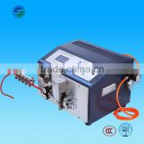 Automatic cable wire cutting stripping bending machine