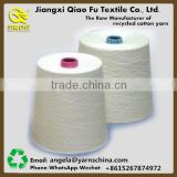 Manufacturer directly wholesale Raw white 40/60 40% polyester yarn in plastic or paper cone for knitting and weaving