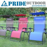 Oversized Zero Gravity Chair with Canopy Lazy Placentero Aluminum Pool Lounge Chairs