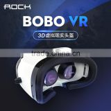 ROCK VR BOX 3D Virtual Reality Movie Game Glasses For 4-6 inch Mobile Phone VR virtual reality 3d glasses MT-5503