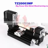 Big Power Mini Metal Wood-turning Lathe Softwood, hardwood can be processed mini wood lathe