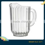 2014 Food Grade clear Most popular Alkaline water ionized pitcher for Hotel, Bar and Household