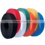 Colorful soft hook and loop tape double side back to back magic tape                                                                         Quality Choice
