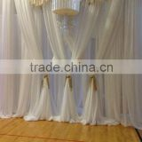 Used wedding backdrop stand, pipe and drape system for sale                                                                         Quality Choice