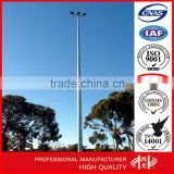 10-30m Round Hot Dip Galvanized High Mast Light Pole with 2000W Metal Halid Lamp