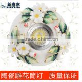 Surface mounted downlight led downlights full set of crystal ceiling lamps aisle lights Alice