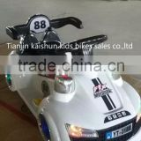 Tianjin kaishun MP3 function RC ride on car toy automatic baby car