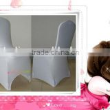 Weisdin wholesale white spandex event chair cover/cheapest strength lycra cover for banquet chair /arch or flat fashion cap