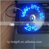 Electric small gifts Programming the usb fan led mini fan                                                                         Quality Choice