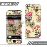 Newest Sticker for iPhone 5 Skin /Waterproof Skin/shockproof case for iPhone 5,5S, 5C with factory