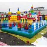 Outdoor Playground Type Inflatable Amusement Park PVC Tarpaulin Inflatable Children Playground