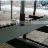 High strength and anti-corrosion fiberglass support beam;most popular for pig farrowing crate slat floor,