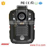 OEM/ODM security guard body worn camera alloyed shell motor camera